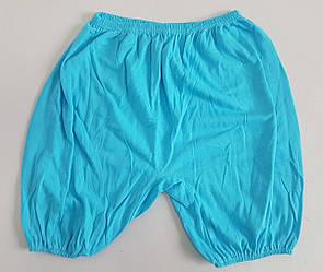 Однотонные женские  панталоны большого размера на резинке ( 6 шт )