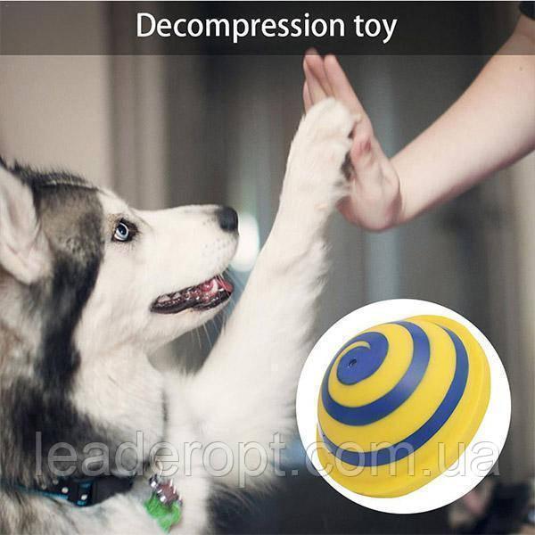 [ОПТ] Жувальна іграшка для собак Interactive Decompression Toy зі звуковими ефектами при натисканні