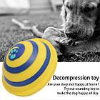 [ОПТ] Жевательная игрушка для собак Interactive Decompression Toy со звуковыми эффектами при нажатии, фото 7