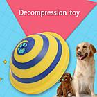 [ОПТ] Жувальна іграшка для собак Interactive Decompression Toy зі звуковими ефектами при натисканні, фото 8