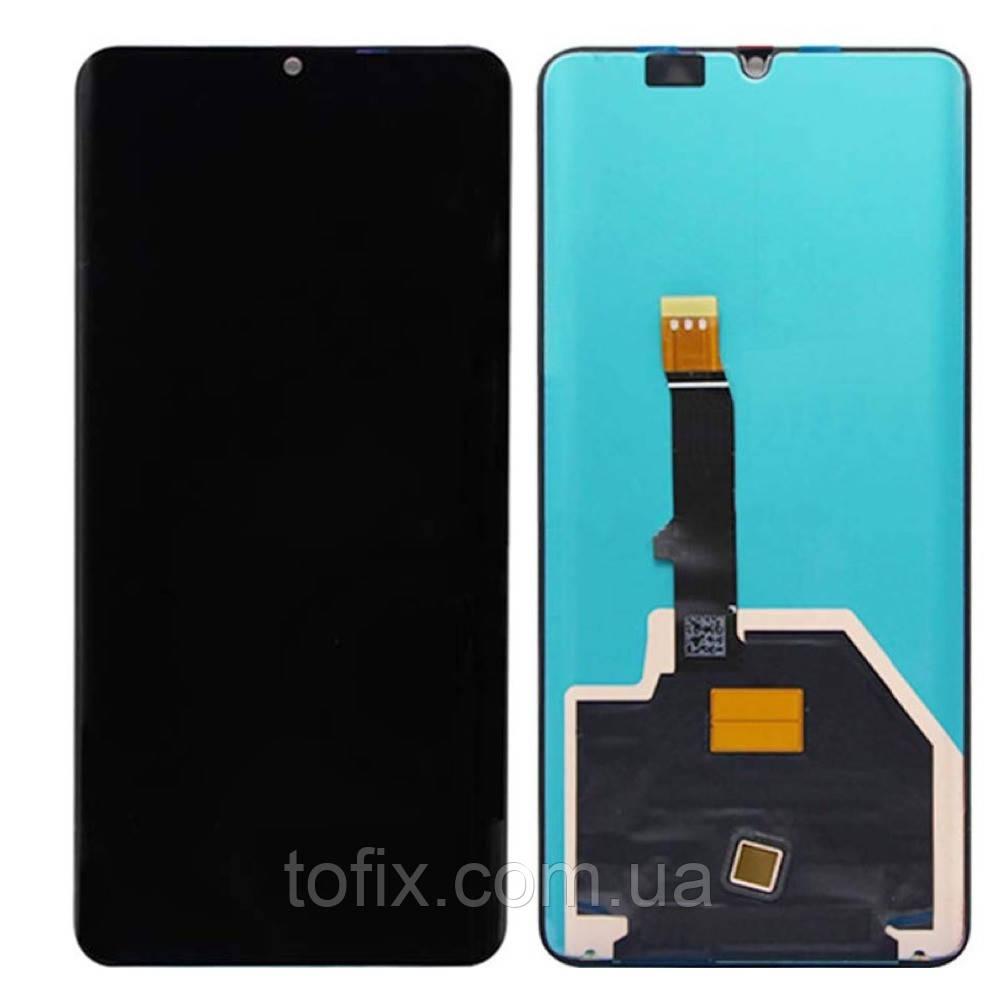 Дисплейный модуль (экран и сенсор) для Huawei P30 Pro (VOG-L09, VOG-L29), черный, оригинал