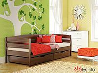"""Деревяная кровать """"Нота Плюс""""  бук-щит"""