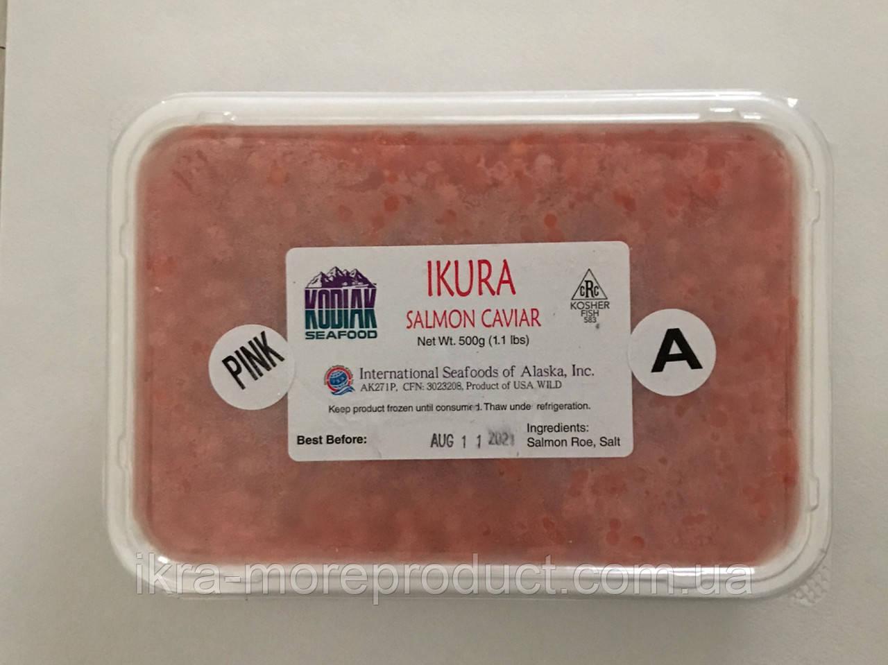 Красная икра горбуша ТМ Kodiak seafoods по 500 грамм