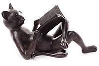 Декоративная фигура Кот с книгой 43см (447-321)