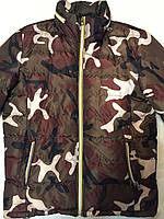Куртка мужская зима-осень цвет: камуфляжный ( размер L) Сток