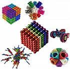 """[ОПТ] Головоломка Neocube """"Радуга"""". Магнитные шарики NeoCube, разноцветные, фото 4"""