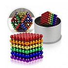 """[ОПТ] Головоломка Neocube """"Радуга"""". Магнитные шарики NeoCube, разноцветные, фото 7"""