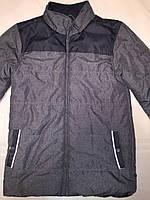 Куртка мужская зима-осень серая ( размер L) Сток