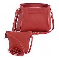 Женская сумка LADY BAG 1A КРАСНАЯ D1001 (S05959)