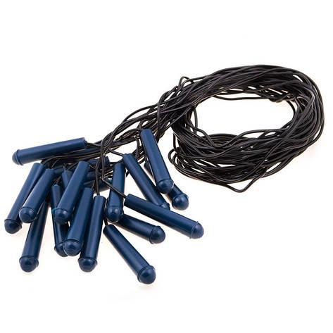 Скакалка резиновая, ручка PVC, фото 2