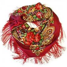 Платок женский украинский с цветами