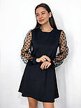 Вечернее платье горох, фото 2