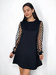 Вечернее платье горох, фото 3