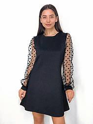 Вечернее платье горох