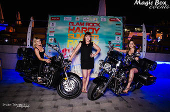 16 августа 2015 г Организация  была приглашена на концерт  Hardy Orchestra Glam Rock Summer Party в  Maristella Marine Residence