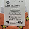 Носки женские оранжевые с принтом собачки, фото 4