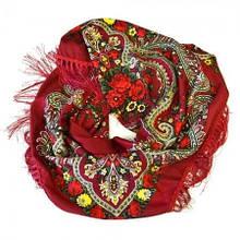 Красивый головной женский платок
