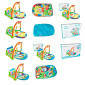 Коврик для младенца HX10900-A  71-48см, подвес,пианино, муз,звук,свет