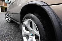 Арки колес BMW X5 E53, БМВ Е53 Х5,  накладки на арки