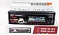 Автомагнитола 1DIN MP3-1581BT/Bluetooth  RGB Pioneer  подсветка+Fm+Aux+ пульт (4x50W)универсальная пионер, фото 3