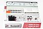 Автомагнитола 1DIN MP3-1581BT/Bluetooth  RGB Pioneer  подсветка+Fm+Aux+ пульт (4x50W)универсальная пионер, фото 6