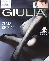 Женские колготки с сеточной структурой с люрексом Zlata Rete 40 (1) - Giulia