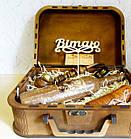 """Оригинальный подарок мужчине - набор """"Козак"""" в деревянном чемодане, фото 3"""