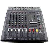 Аудио микшер Mixer BT 608D c bluetooth (S06140)
