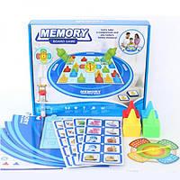 Детская развивающая настольная игра с памятью Memory Мэмори Metr+ 5055