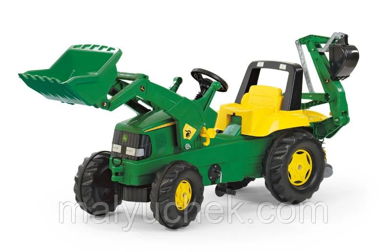 Трактор з ковшем Junior John Deere Rolly Toys 811076