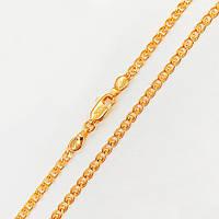 Цепочка Xuping 55 см х 3 мм Лав медицинское золото позолота 18К А/В 3-0058