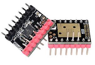 TMC2208 v3 UART с радиатором 1/256 тихий драйвер, фото 2