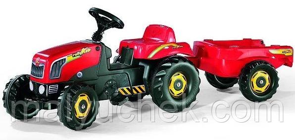 Трактор з причепом Trailer червоний Rolly Toys 12121