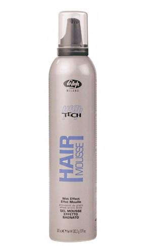 Гель-мусс для волос выпрямляющий Lisap High Tech Gel Mousse 300 мл