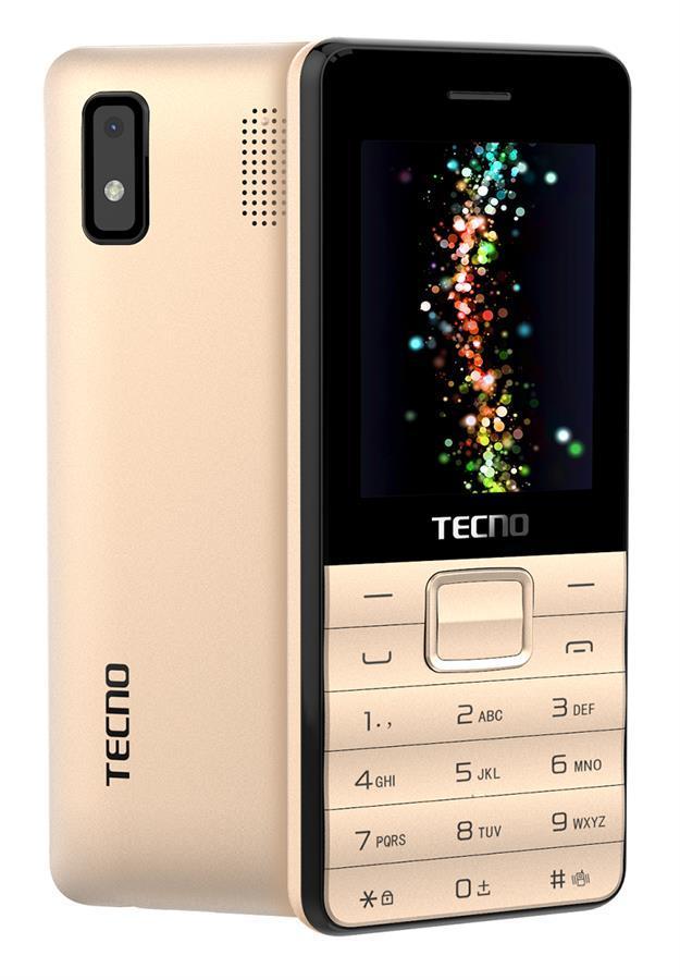 Tecno T372 Triple Sim Champagne Gold (4895180746840)