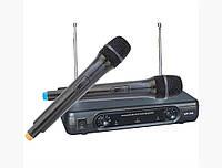 Двухканальная беспроводная радиосистема Bose BS -206 c двумя радиомикрофонами и одной базой (приемником), фото 1