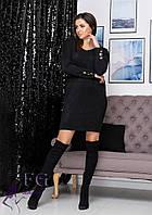 Платье оверсайз теплое  В 0209/05, фото 1
