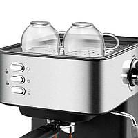 Кофемашина полуавтоматическая  Espresso Coffee Maker  с капучинатором DSP KA3028
