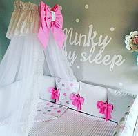 Балдахин для кроватки детской