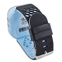 Детские умные смарт-часы с GPS трекером синие Kids Smart Watch with Blue, фото 2