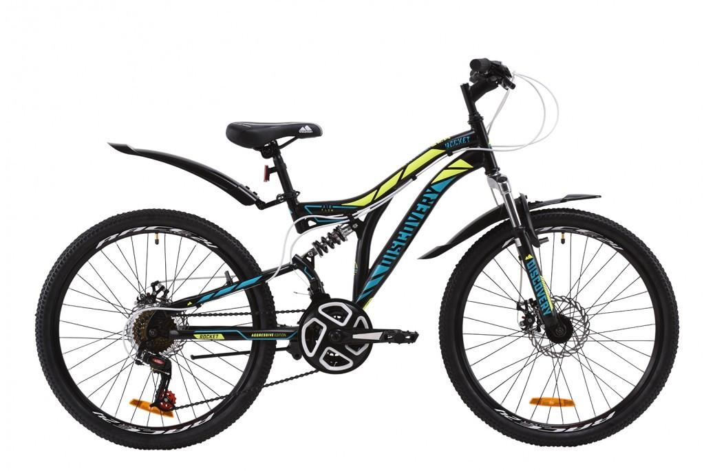 """Велосипед (детский) подростковый горный 24"""" Discovery Rocket DD 2020 стальная рама 15"""""""
