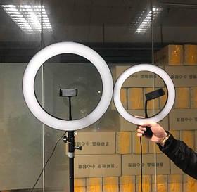 Кольцевая лампа 36см большая кольцевой свет кольцевые лампы со штативом для визажистов кольцевую лампу