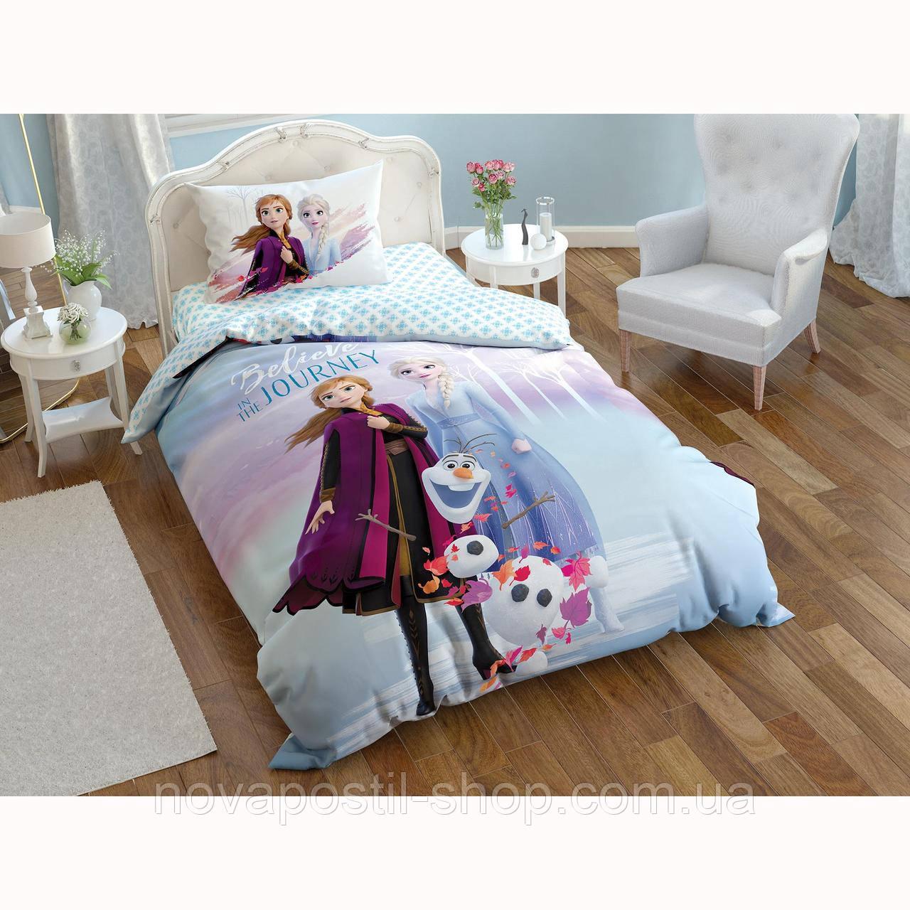 TAC Disney Frozen Elsa 2, комплект детского постельного белья подростковый