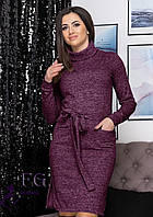 Платье -гольф с карманами В 0207/01, фото 1