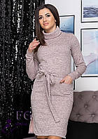 Платье -гольф с карманами В 0207/04, фото 1