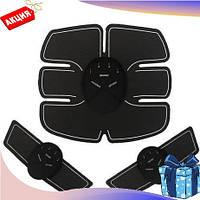 Пояс миостимулятор EMS Trainer 3 в 1 с насадками руки пояс для похудения 3 в 1 емс тренер подарок от целлюлита