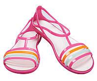 Босоножки женские балетки Кроксы Изабелла оригинал / Crocs Women's Isabella Sandal