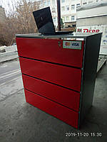 Прикассовое место из ДСП и металла бу. место кассира бу., фото 1