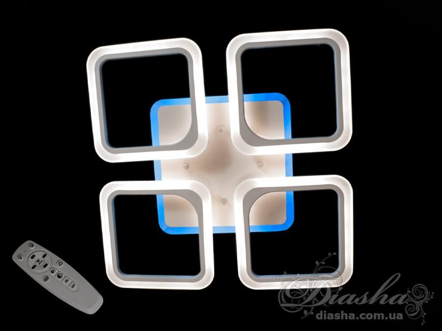 Светодиодная люстра белого цвета 105W&A8060/4WH LED dimmer