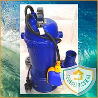 Фекальный насос WERK WQD 12, 2 кВт, 18 m3/ч. Дренажный насос. Насос для откачки. Насос для канализации.